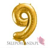 Balony cyfry Balon foliowy cyfra złota