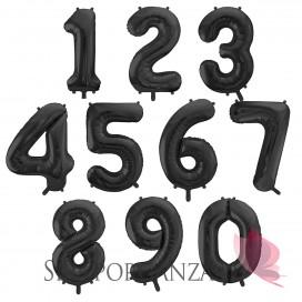 Balony cyfry Balon foliowy cyfra czarna