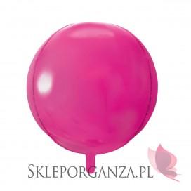 Balon foliowy KULA ciemnoróżowa 40cm