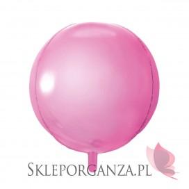 Balon foliowy KULA jasnoróżowa 40cm