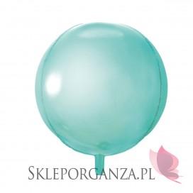 Balon foliowy KULA miętowa 40cm