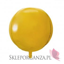 Balon foliowy KULA złota 40cm