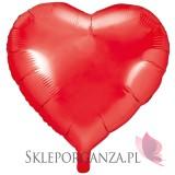 Balony foliowe na wesele Balon foliowy SERCE czerwone 61cm