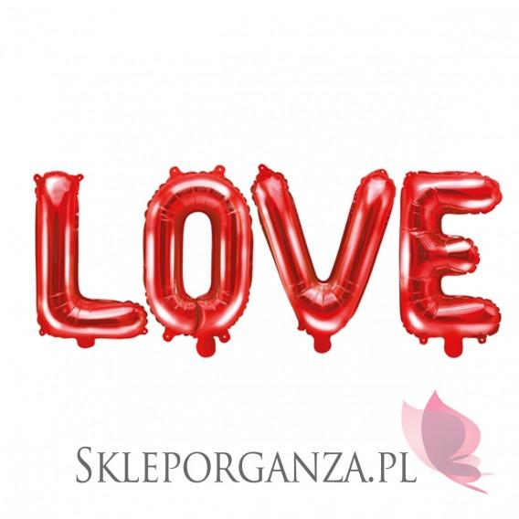 Balony foliowe Balon foliowy LOVE czerwony