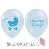 Balony na Baby Shower Balon Nasz Maly Chłopczyk