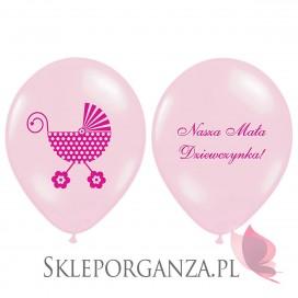 Balony na Baby Shower Balon Nasza Mała Dziewczynka