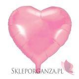 Balon foliowy SERCE różowe 47cm