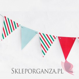 - Girlanda Merry Xmas - Flagietki
