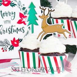 Kolekcja Merry Xmas -Papilotki Merry Xmas