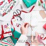 Papier do pakowania Merry Xmas
