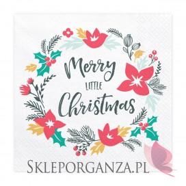 Kolekcja Merry Xmas -Serwetki Merry Little Christmas