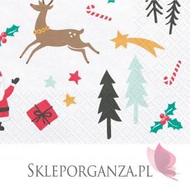 Kolekcja Merry Xmas Serwetki Merry Xmas