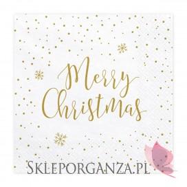 Serwetki Merry Christmas