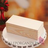 Świąteczny zestaw miodów w szkatułce – mały - personalizacja
