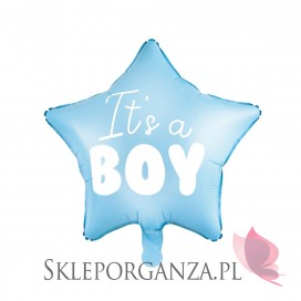 Balony Balon foliowy Gwiazdka - It's a boy, 48cm