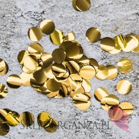 Konfetti Kółka, złote, 15g