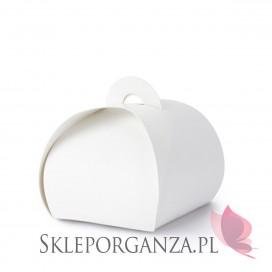 Biały Pudełeczka torebka, białe, 10szt.