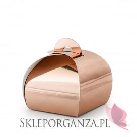Rose Gold Pudełeczka torebka, różowe złoto, 10szt.