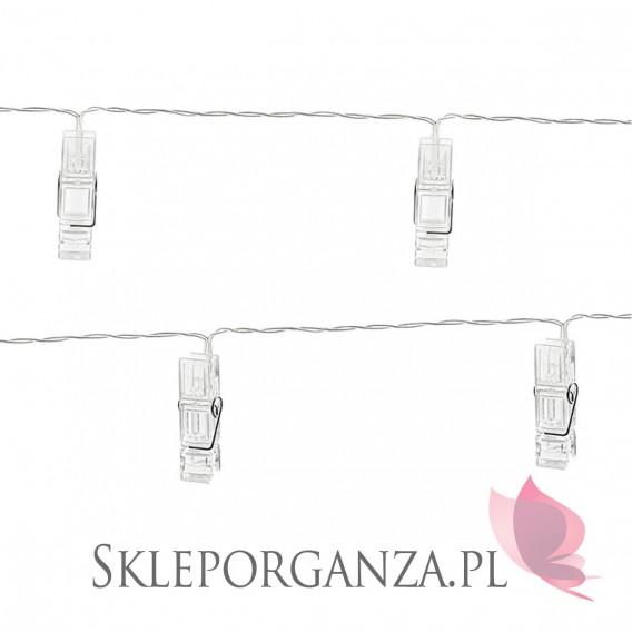 Inne Lampki LED klamerki, bezbarwne