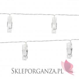 Inne dekoracje Słodkiego Bufetu Lampki LED klamerki, bezbarwne