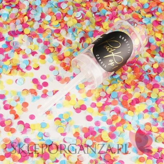 Push pop konfetti Push pop konfetti, mix kolorów