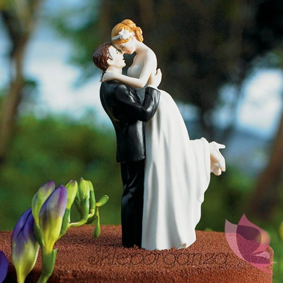 Porcelanowa figurka na tort - Prawdziwa Miłość