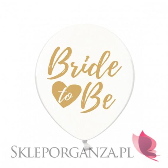 Kolekcja Bride to be Balony KOLEKCJA Bride to be złoty nadruk
