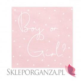 Kolekcja Boy or Girl Serwetki KOLEKCJA Boy or Girl