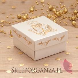 Pudełka i torebki komunijne Pudełeczko komunijne Złoty Kielich