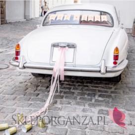 Zestawy do dekoracji auta Zestaw dekoracji samochodowych - Mąż Żona