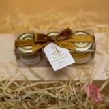 Kolekcja Złota Zestaw upominkowy miód - KOLEKCJA ZŁOTA