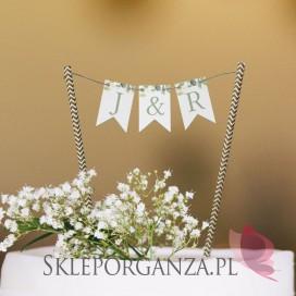 Topper na tort – personalizacja kolekcja ślubna KOLEKCJA EUKALIPTUS