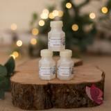 Bańka mydlana buteleczka – personalizacja kolekcja ślubna EUKALIPTUS
