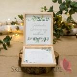 Prośba o świadkowanie - personalizacja kolekcja ślubna EUKALIPTUS
