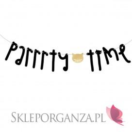 Banery i girlandy na Roczek Baner KOLEKCJA KOTKI - Parrrty Time