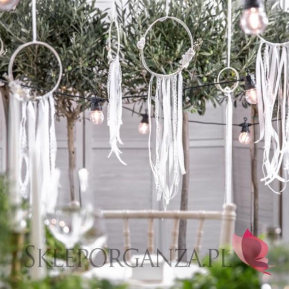 Biały Zestaw dekoracji - Łapacze, białe