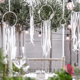 Zestaw dekoracji - Łapacze, białe