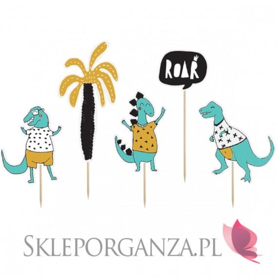 Toppery i figurki - Toppery KOLEKCJA DINOZAURY, mix wzorów