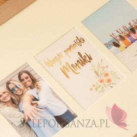 Prezenty - Pamiątkowa Rama na zdjęcia z Wieczoru Panieńskiego - personalizacja kolekcja TEAM BRIDE