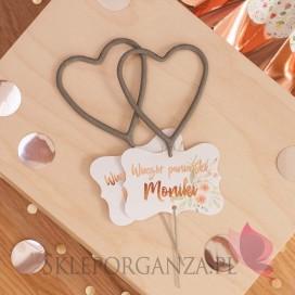Zimne ognie serca / iskierki miłości - personalizacja kolekcja TEAM BRIDE