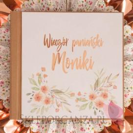 Księga wspomnień - personalizacja kolekcja TEAM BRIDE
