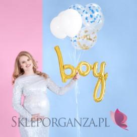Kolekcja Oh Baby Balon foliowy Boy złoty