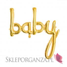Balony Balon foliowy Baby złoty