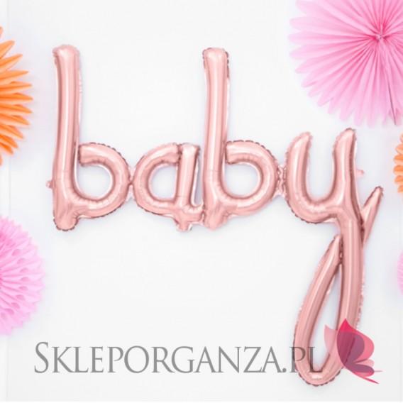Balony Balon foliowy Baby ROSE GOLD