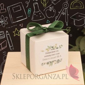 Pudełko kostka 5cm – personalizacja Dzień Nauczyciela