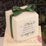 Opakowania do upominków dla Nauczycieli Pudełko kostka 8cm – personalizacja Dzień Nauczyciela