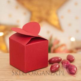 Kolekcja Mikołaj i Przyjaciele Świąteczne pudełko serce czerwone
