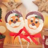 Upominki świąteczne Lizak duży Mikołaj