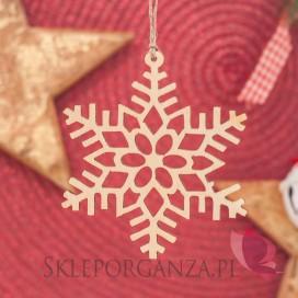 Kolekcja Natural Christmas Zawieszka dekoracyjna Płatek śniegu