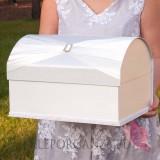 Ekskluzywne pudełka na koperty ślubne Ekskluzywny kuferek na koperty - DIAMENT